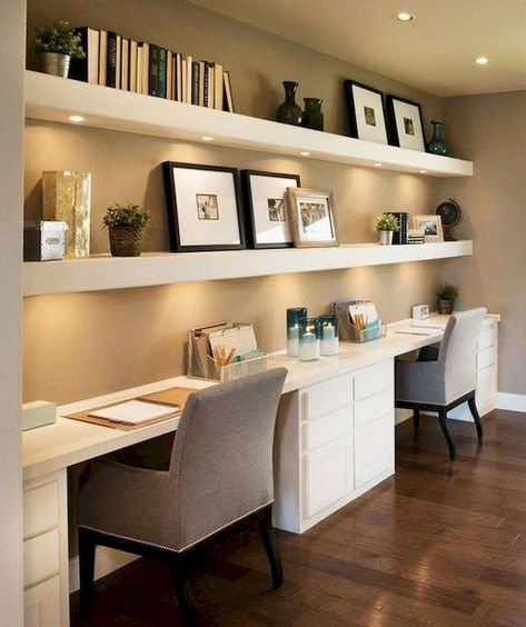 Lighting tips in a home office